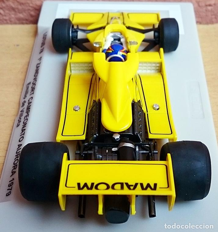 Slot Cars: FLY SLOT 058102 - LOTUS 78 GP AURORA 1979 EMILIO VILLOTA - Foto 10 - 92163990