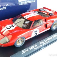 Slot Cars: FLY CAR MODEL FORD MK II LE MANS 66, VÁLIDO EN SCALEXTRIC. Lote 92506455