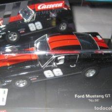 Slot Cars: FORD MUSTANG GT NEGRO 66 DE CARRERA. Lote 195091603