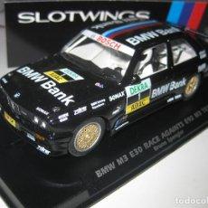 Slot Cars: NOVEDAD - BMW M3 E30 BMW BANK Nº1 DE SLOTWINGS. Lote 97040535