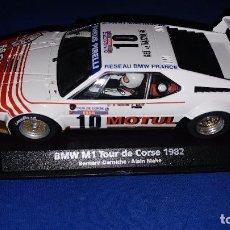Slot Cars: BMW M1 TOUR DE CORSE 1982 EDICION LIMITADA FLY EL ESTADO ES NUEVO . Lote 96939527