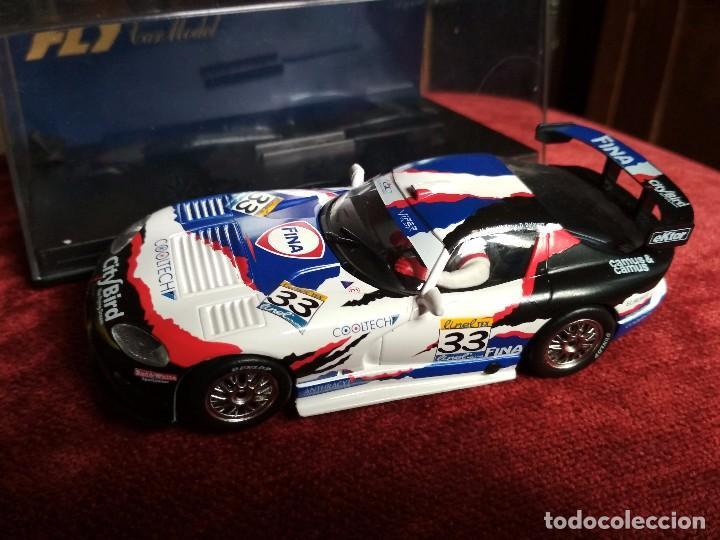 CHRYSLER VIPER GTS-R 3º SILVERSTONE 1999 FLY CAR MODEL NUEVO EN CAJA (Juguetes - Slot Cars - Fly)