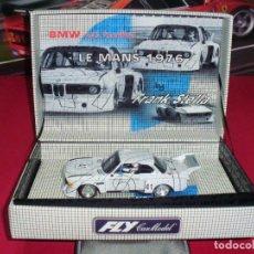 Slot Cars: BMW CSL TURBO 24 H. LE MANS 1976 DE FLY. . Lote 97817639