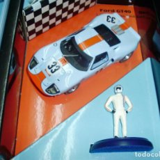 Slot Cars: FORD GT40 1000 KM. SPA 1968 DE FLY. . Lote 97817731