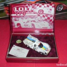 Slot Cars: LOLA T70 MKIIIB ACCIDENTADO DE FLY. . Lote 97817751