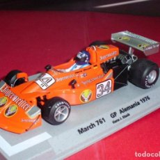 Slot Cars: MARCH 761 JAGERMEISTER GP ALEMANIA 1976, DE FLY.. Lote 97817995