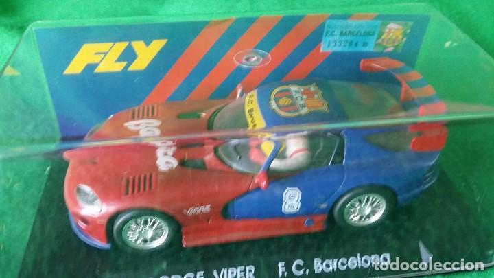 DOGGE VIPER GTS-R E5 - F.C. BARCELONA – FLY – EDICIÓN LIMITADA (Juguetes - Slot Cars - Fly)