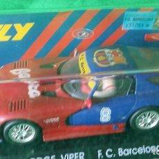 Slot Cars: DODGE VIPER GTS-R E5 - F.C. BARCELONA – FLY – EDICIÓN LIMITADA. Lote 98020683