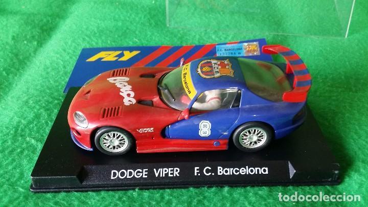 Slot Cars: Dogge Viper GTS-R E5 - F.C. Barcelona – Fly – Edición Limitada - Foto 3 - 98020683