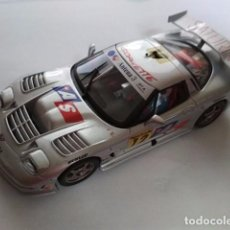 Slot Cars: CHEVROLET CORVETTE C5R CAMPEONATO DE ESPAÑA GT 2001 DE FLY CAR MODEL NUEVO EN CAJA. Lote 98499111