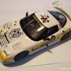 Slot Cars: CORVETTE C5R ED ESPECIAL 20 ANIVERSARIO CRIC CRAC FLY CAR MODEL NUEVO EN CAJA. Lote 98590227