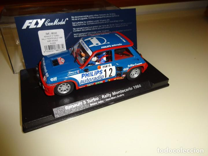Fly  renault 5 turbo  rally montecarlo 1984  br - Sold