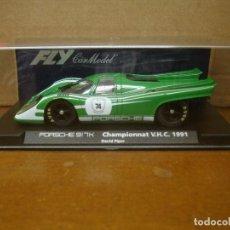 Slot Cars: FLY PORSCHE 917K COMPLETA TEAM 04 REF-C87 NUEVO CON SU CAJA ORIGINAL. Lote 98946547