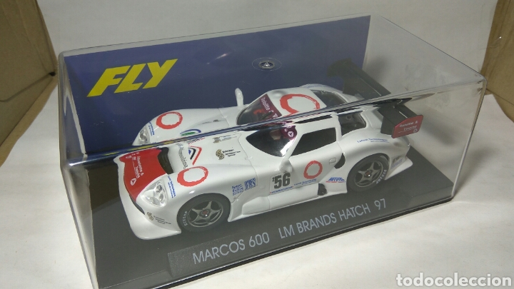 FLY MARCOS 600 LM BLANCO REF. A-23 (Juguetes - Slot Cars - Fly)