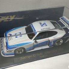Slot Cars: FLY FORD CAPRI RS TURBO ZOLDER DRM 1979 REF. A141. Lote 101664211