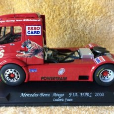 Slot Cars: GB TRACK FLY MERCEDES-BENZ ATEGO FÍA ETRC (2000) LUDOVIC FAURE. Lote 253597920