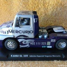 Slot Cars: GB TRACK FLY SISU SL250 EDICIÓN ESPECIAL -SEGUROS MERCURIO-. Lote 102050743