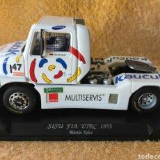 Slot Cars: GB TRACK FLY SISU SL250 FIA ETRC (1995) MARTIN KOLOK. Lote 102053724