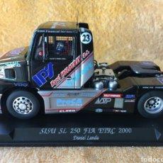 Slot Cars: GB TRACK FLY SISU SL250 FIA ETRC 2000. DANIEL LANDA. Lote 102054762
