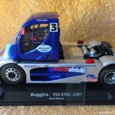 Slot Cars: GB TRACK FLY BUGGYRA MK002/B FIA ETRC (2001) GERD KORBER. Lote 102056104