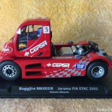 Slot Cars: GB TRACK FLY BUGGYRA MK002/B JARAMA FIA ETRC (2003) ANTONIO ALBACETE. Lote 102056454
