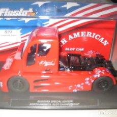 Slot Cars: 204205 -CAMION BUGGYRA EDICION ESPECIAL NORTH AMERICA SLOT CHAMPIONSHIP DE FLYSLOT. Lote 191486716