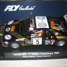 Slot Cars: A-994. LANCIA 037 RALLY CATALUÑA DE FLY. Lote 144679429