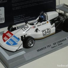 Slot Cars: F1 MARCH 761 GP CANADA 1976 FLY/SCALEXTRIC NUEVO. Lote 105752539