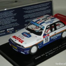 Slot Cars: BMW M3 E30 ROTHMANS SLOTWINGS/SCALEXTRIC NUEVO. Lote 105752695
