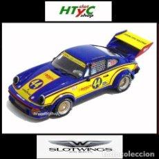 Slot Cars: SLOTWINGS PORSCHE 934/5 #44 BOSCH IMSA 3 HS MID OHIO 1977 BUNDY / WOODS FLYSLOT W065-3. Lote 105784743