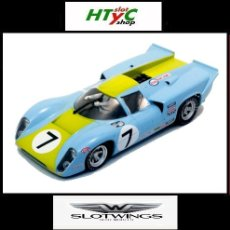 Slot Cars: SLOTWINGS LOLA T70 MKIII GT #7 24 HS LE MANS 1968 NORINDER / AXELSSON W004-2. Lote 105792904