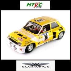 Slot Cars: SLOTWINGS RENAULT 5 TURBO #38 HERTZ TOUR DE CORSE 1984 BARTOLI / POLETTI W037-02. Lote 105793038