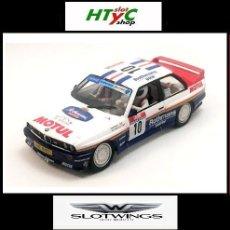 Slot Cars: SLOTWINGS BMW M3 E30 #10 ROTHMANS 1º TOUR DE CORSE 1987 BEGUIN / LENNE W038-01. Lote 105793282