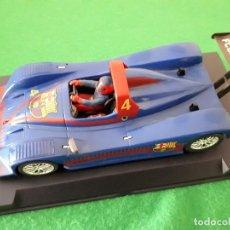 Slot Cars: LOLA B98/10 – FUTBOL CLUB BARCELONA – FLY CAR MODEL. Lote 105830759