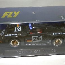 Slot Cars: PORSCHE GT1 TEST 96 CARBONO FLY REF. A32. Lote 105978719