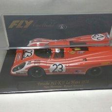 Slot Cars: FLY PORSCHE 917 K 1° LE MANS 1970 REF. C53. Lote 105979403