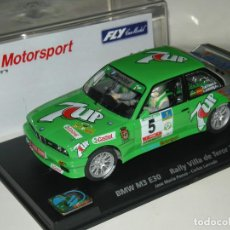 Slot Cars: BMW M3 E30 7UP PONCE FLY/SCALEXTRIC NUEVO EN CAJA. Lote 107045279