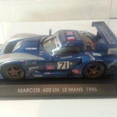 Slot Cars: MARCOS 600 LM LE MANS 1995. Lote 108021627