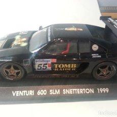 Slot Cars: VENTURI 600 TOMB RAIDER. Lote 108021743