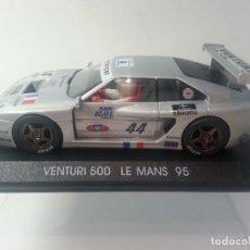 Slot Cars: VENTURI 500 LE MANS 95. Lote 108021883