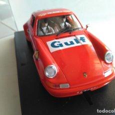 Slot Cars: NOVEDAD. FLYSLOT FLY SLOT PORSCHE 911 S ,1º RALLY DE SUECIA 1968, GULF. NUEVO, VÁLIDO SCALEXTRIC. Lote 234810740
