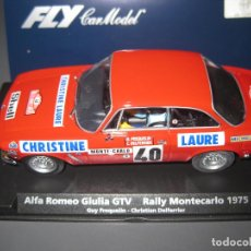 Slot Cars: 88130. A-802. ALFA ROMEO GIULIA GTV RALLY MONTECARLO 1975 DE FLY. Lote 141603858