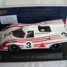 Slot Cars: FLY C59 PORSCHE 917 K 24H. DAYTONA 1970. Lote 11819605