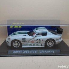 Slot Cars: FLY DODGE VIPER GTS-R DAYTONA 96 BLANCO. Lote 112808663