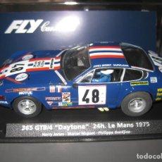 Slot Cars: OFERTA - FERRARI DAYTONA AZUL Nº48 DE LAS 24 HORAS DE LE MANS DE FLY. Lote 140954978