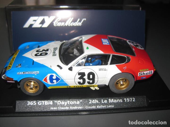 FERRARI DAYTONA Nº39 DE LAS 24 HORAS DE LE MANS 1972 DE FLY (Juguetes - Slot Cars - Fly)