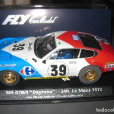 Slot Cars: FERRARI DAYTONA Nº39 DE LAS 24 HORAS DE LE MANS 1972 DE FLY. Lote 141117996