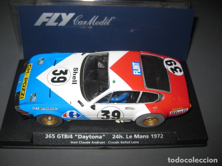 Slot Cars: FERRARI DAYTONA Nº39 DE LAS 24 HORAS DE LE MANS 1972 DE FLY - Foto 3 - 148645210