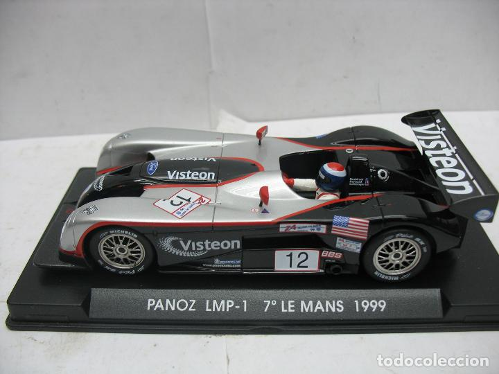 ¿SCALEXTRIC? FLY TECNITOYS - COCHE DE CARRERAS PANOZ LMP-1 7º LE MANS 1999 (Juguetes - Slot Cars - Fly)