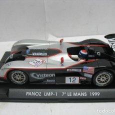 Slot Cars: ¿SCALEXTRIC? FLY TECNITOYS - COCHE DE CARRERAS PANOZ LMP-1 7º LE MANS 1999. Lote 113190011